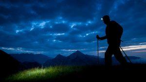 lampe frontale randonnée