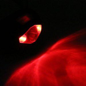 utilité lumière rouge sur lampe frontale